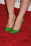 "WEST HOLLYWOOD, CA - OCTOBER 09: Francesca Eastwood (green shoe detail) at the Tacori Productions New ""City Lights"" Fall/Winter 2012 Collection Launch Party at The Lot Studio on October 9, 2012 in West Hollywood, California."