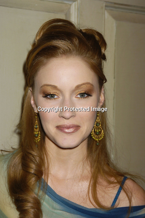 Jennifer Ferrin ..at the As The World Turns 49th Anniversary Party on ..March 30, 2005 at their studio in Brooklyn, New York. ..Photo by Robin Platzer, Twin Images
