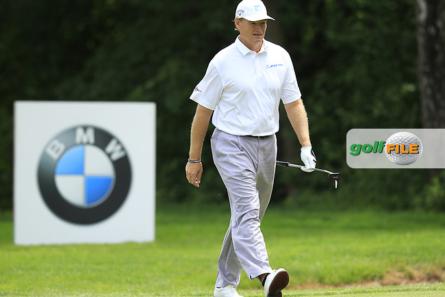 Ernie Els (RSA) walks onto the 5th green during Sunday's Final Round of the 2013 BMW International Open held on the Eichenried Golf Club, Munich, Germany. 23rd June 2013<br /> (Picture: Eoin Clarke www.golffile.ie)