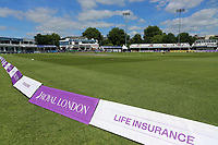 General view of the ground ahead of Essex Eagles vs Nottinghamshire, Royal London One-Day Cup Semi-Final Cricket at The Cloudfm County Ground on 16th June 2017