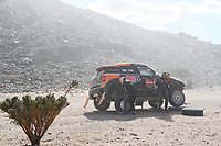 6th January 2020, Al Wajh to Neom, Saudi Arabia;   323 Krotov Denis rus, Tsyro Dmytro ukr, Mini, MSK Rally Team, during Stage 2 of the Dakar 2020 between Al Wajh and Neom, 401 km  - Editorial Use