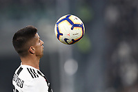 Calcio, Serie A: Juventus - Genoa, Turin, Allianz Stadium, October 20, 2018.<br /> Juventus' Joao Cancelo in action during the Italian Serie A football match between Juventus and Genoa at Torino's Allianz stadium, October 20, 2018.<br /> UPDATE IMAGES PRESS/Isabella Bonotto