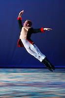 Jared Hunt dances for Nevada Ballet Theatre's 'Cinderella' on the campus of UNLV.