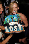 "May 22, 2010, LAS VEGAS, NV; Actress Rebecca Mader of ""Lost"" celebrates the series finale at Lavo Nightclub Las Vegas, with a custome cake © Al Powers / RETNA ltd"