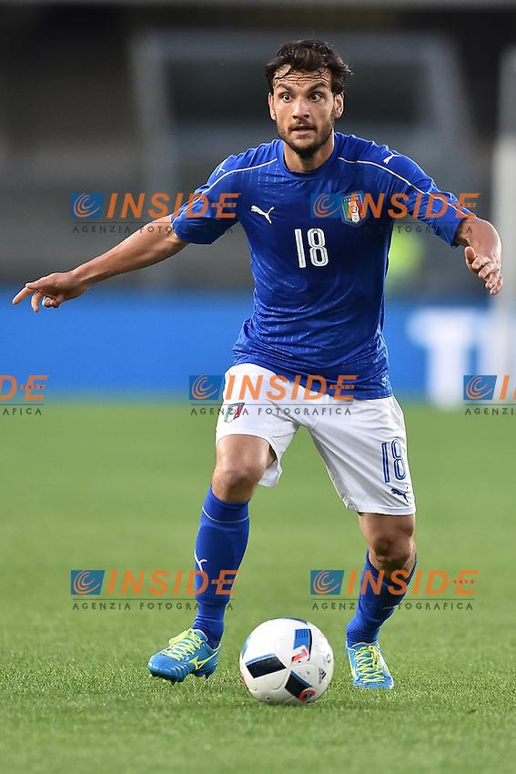 Marco Parolo Italia.<br /> Verona 28-05-2016 Stadio Marcantonio Bentegodi.<br /> Italia - Finlandia<br /> Friendly Match. Foto Andrea Staccioli / Insidefoto
