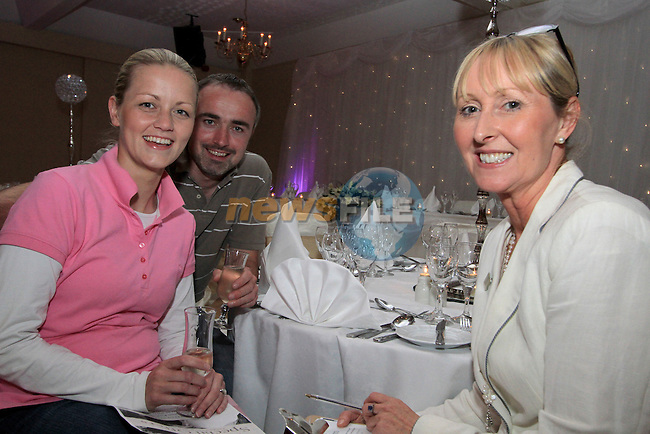 Catherine McGovern, Marketing and Sales Manager of the Boyne Valley Hotel speaks with Colm White and Norma Reilly at the Wedding Showcase in The Boyne Valley Hotel...(Photo credit should read Jenny Matthews www.newsfile.ie)....This Picture has been sent you under the conditions enclosed by:.Newsfile Ltd..The Studio,.Millmount Abbey,.Drogheda,.Co Meath..Ireland..Tel: +353(0)41-9871240.Fax: +353(0)41-9871260.GSM: +353(0)86-2500958.email: pictures@newsfile.ie.www.newsfile.ie.