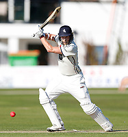 Calum Haggett bats for Kent during the County Championship Division 2 game between Kent and Middlesex at the St Lawrence Ground, Canterbury, on June 25, 2018