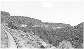 View of Barranca Hill looking north up the Chili Line track.<br /> D&amp;RGW  Barranca Hill, NM  Taken by Richardson, Robert W. - 7/2/1941