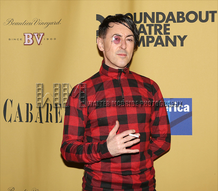 Alan Cumming attending the Broadway Opening Night After Party for 'Cabaret' at Studio 54 on April 24, 2014 in New York City.