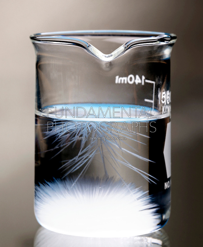 SUPERSATURATED SOLUTION - SODIUM ACETATE IN WATER <br />