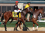 October 06, 2018 : #8 Tobacco Road and Corey Lanerie in the 105th running of The Claiborne Breeders' Futurity (Grade 1) $500,000 at Keeneland Race Course on October 06, 2018 in Lexington, KY.  Candice Chavez/ESW/CSM
