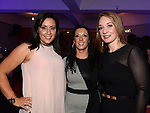 Gillian Brady, Maria Donnelly and Gillian Maguire pictured at the Stephanie Smith benefit night in The Star Bar. Photo:Colin Bell/pressphotos.ie