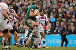 Geoff Parling of Leicester Tigers - Aviva Premiership - Leicester Tigers vs Sale Sharks - Season 2014/15 - 28th February 2015 - Photo Malcolm Couzens/Sportimage