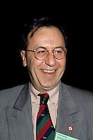 Montreal (QC) CANADA - File Photo - 1996 -<br /> <br /> Andre Boulerice, Parti Quebecois MNA for Sainte-Marie-Saint-Jacques in Montreal.<br /> <br /> <br /> Andr&Egrave; Boulerice (born May 8, 1946 in Joliette, Quebec) is a Qu&Egrave;b&Egrave;cois politician and gay rights activist. He was a member of the National Assembly of Quebec for the riding of Sainte-Marie&oacute;Saint-Jacques in Montreal.<br /> <br /> Born in Joliette, he graduated in specialized education from C&Egrave;gep du Vieux Montr&Egrave;al. He joined the Parti Qu&Egrave;b&Egrave;cois in 1970 and later worked for the Chambly school board.<br /> <br /> He was elected in the Sainte-Marie&oacute;Saint-Jacques riding in 1989, formerly under Claude Charron. Boulerice was reelected in 1994, 1998 and 2003. He was also the assistant leader in the government, president of the Quebec division of the Assembl&Egrave;e parlementaire de la Francophonie and Quebec immigration minister. He helped introduce civil union for same-sex couples. Boulerice resigned in September 2005.
