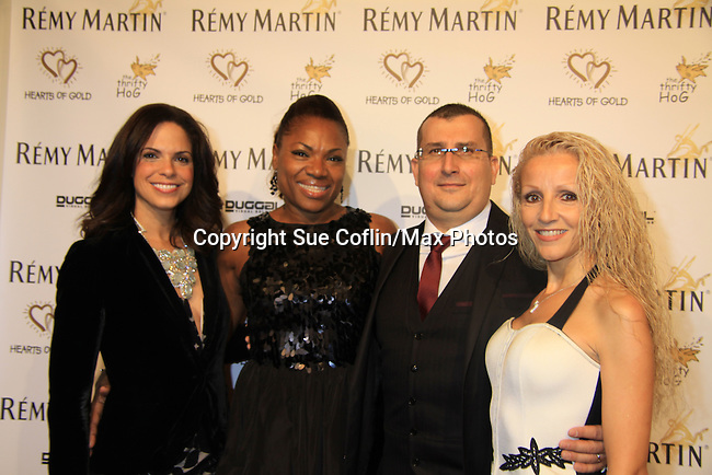 """at Hearts of Gold's 16th Annual Fall Fundraising Gala & Fashion Show """"Come to the Cabaret"""", a benefit gala for Hearts of Gold on November 16, 2012 at the Metropolitan Pavilion, New York City, New York.   (Photo by Sue Coflin/Max Photos)"""