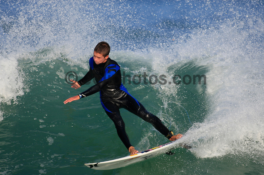HOSSEGOR, FRANCE, in the  South West region of France . Photo: joliphotos.com
