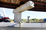 WATERBURY CT. 17 October 2017-101717SV11-The new I84 exit 25 ramp under construction in Waterbury Tuesday.<br /> Steven Valenti Republican-American