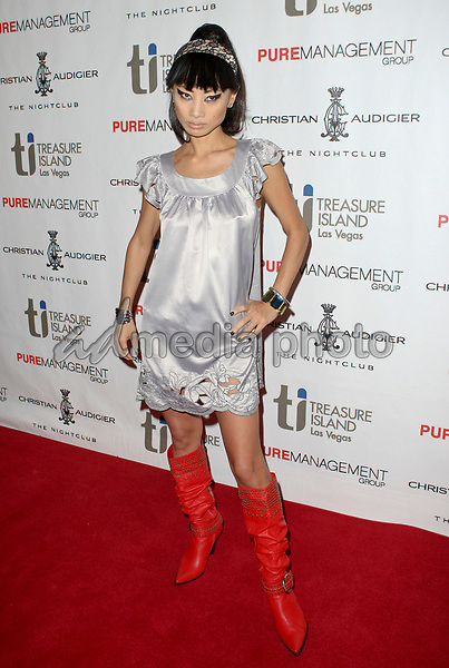 2 July 2008 - Las Vegas, Nevada - Bai Ling. Designer Christian Audigier celebrates the Grand Opening of Christian Audigier the Night Club with Guest DJ Nick Cannon inside the Treasure Island (TI) Hotel and Casino. Photo Credit: MJT/AdMedia