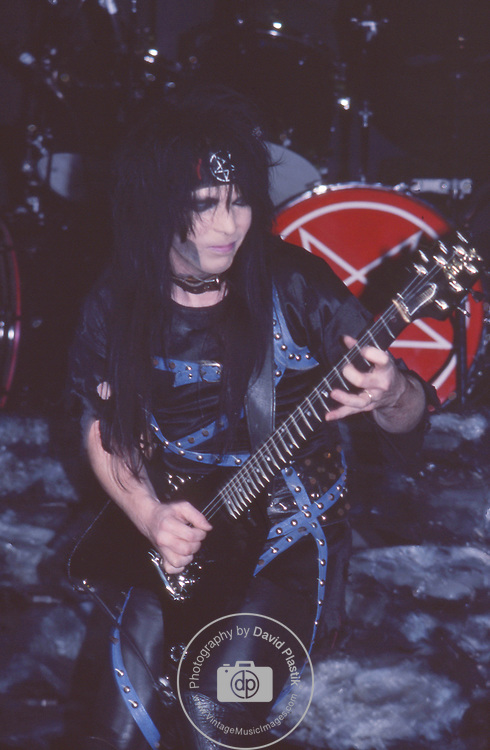 Mick MArs of Motley Crue Jan 1984 at New Haven Coliseum