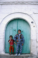 Turkish boys in Goreme, Cappadocia, Turkey