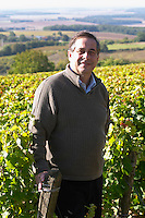 Henry Natter, owner. Domaine Henry Natter, Montigny, Sancerre, Loire, France