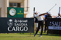 Sergio Garcia (ESP) on the 11th during Round 1 of the Saudi International at the Royal Greens Golf and Country Club, King Abdullah Economic City, Saudi Arabia. 30/01/2020<br /> Picture: Golffile | Thos Caffrey<br /> <br /> <br /> All photo usage must carry mandatory copyright credit (© Golffile | Thos Caffrey)