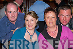 Night Out - Having a great time at The Benefit Dance in aid of  injured Churchill footballer Shane O'Sullivan in The Abbey Gate Hotel on Saturday night were l/r Richard Williams, Mary Browne, Helena & Denis Williams.......   Copyright Kerry's Eye 2008