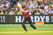 10th February 2018, Melbourne Cricket Ground, Melbourne, Australia; International Twenty20 Cricket, Australia versus England;  Sam Billings of England in batting action  through the leg side