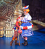 Dick Whittington <br /> by Eric Potts <br /> directed by Ian Talbot<br /> at New Wimbledon Theatre, Wimbledon, London, Great Britain <br /> rehearsal <br /> 8th December 2016 <br /> <br /> <br /> Matthew Kelly as Sarah the Cook <br /> <br /> <br /> Sam Hallion as Dick Whittington <br /> <br />  <br /> <br /> Photograph by Elliott Franks <br /> Image licensed to Elliott Franks Photography Services