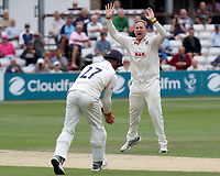 Simon Harmer of Essex appeals for a catch during Essex CCC vs Yorkshire CCC, Specsavers County Championship Division 1 Cricket at The Cloudfm County Ground on 9th July 2019