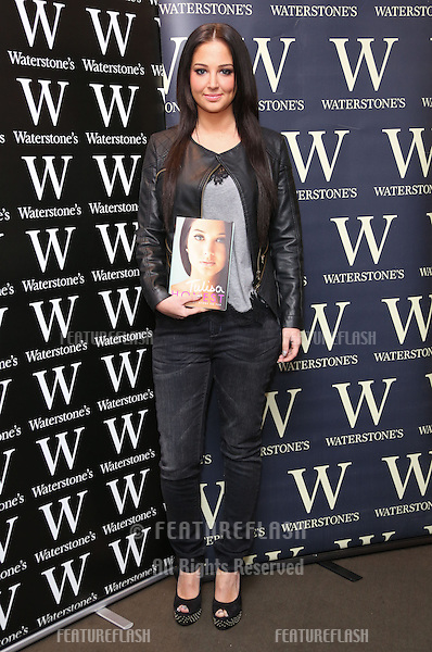 Tulisa Contostavlos signs copies of her book Honest at Waterstones.Reading, England. 14/12/2012 Picture by: Henry Harris / Featureflash