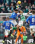 29.12.2019 Celtic v Rangers: Connor Goldson and Christopher Jullien