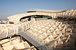 Metropol Parasol wooden structure in Plaza La Encarnación, Seville, Spain, architect Jürgen Mayer-Hermann completed 2011
