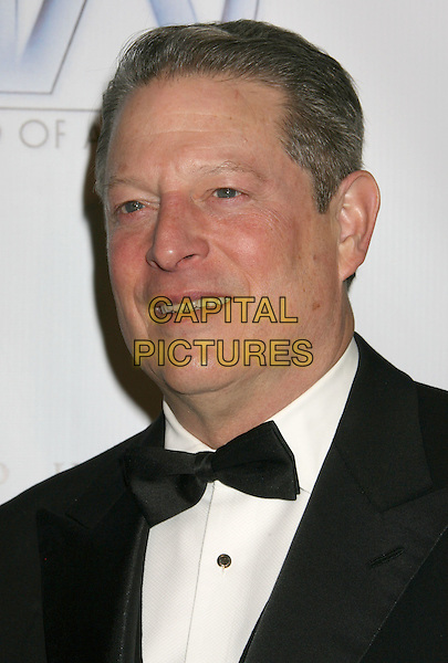 AL GORE.20th Annual Producers Guild Awards held at The Hollywood Palladium, Hollywood, California, USA..January 24th, 2009.headshot portrait black bow tie .CAP/ADM/MJ.©Michael Jade/AdMedia/Capital Pictures.