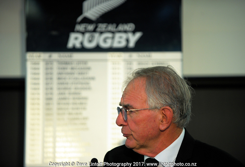 NZ Rugby chairman Brent Impey. The 2017 New Zealand Rugby Union Annual General Meeting at the New Zealand Rugby Union Head Office in Wellington, New Zealand on Thursday, 27 April 2017. Photo: Dave Lintott / lintottphoto.co.nz
