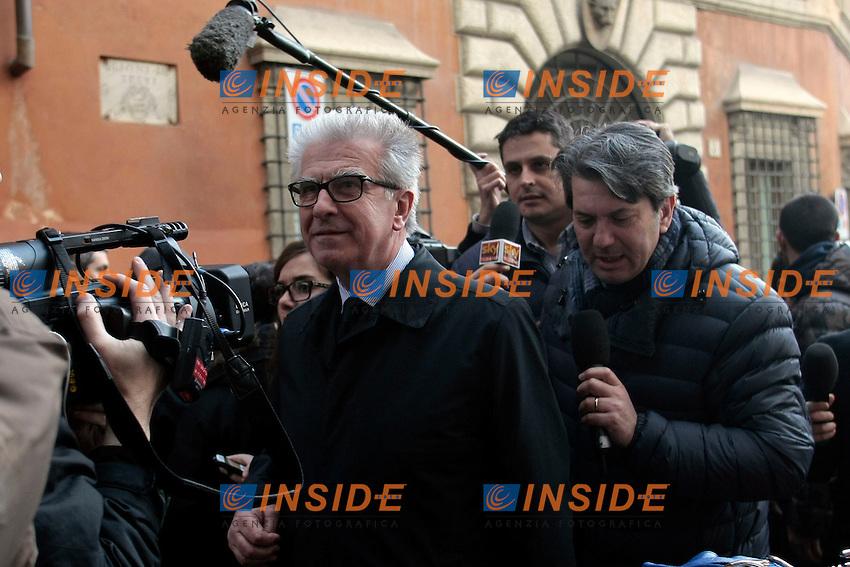 Luigi Zanda<br /> Roma 13/02/2014 Direzione del Partito Democratico.<br /> Photo Samantha Zucchi Insidefoto