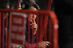 Manchester United Manager Louis van Gaal behind bars<br /> - Barclays Premier League - Bournemouth vs Manchester United - Vitality Stadium - Bournemouth - England - 12th December 2015 - Pic Robin Parker/Sportimage