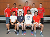 The Newsday All-Long Island boys tennis team poses for a group photo at company headquarters on Wednesday, June 15, 2016. Appearing are, FRONT ROW, FROM LEFT: Athell Bennett of Valley Stream Central, Cannon Kingsley of Northport, Yuval Solomon of Plainview JFK (Player of the Year) and Colin Sacco of Chaminade. BACK ROW, FROM LEFT: Coach Shai Fisher of Syosset, Kabir Rajpal of Syosset, Neel Rajesh of Syosset, Sean Mullins of Cold Spring Harbor, Aziz Rashidzada of Half Hollow Hills West and Jackson Weisbot of Half Hollow Hills West.