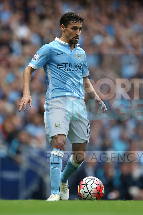 Jesus Navas of Manchester City - Manchester City vs Watford - Barclay's Premier League - Etihad Stadium - Manchester - 29/08/2015 Pic Philip Oldham/SportImage
