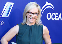LAGUNA BEACH, CA, USA - AUGUST 16: Rachael Harris arrives at the 7th Annual Oceana's Annual SeaChange Summer Party on August 16, 2014 in Laguna Beach, California, United States. (Photo by Xavier Collin/Celebrity Monitor)