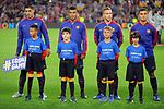 UEFA Champions League 2018/2019 - Matchday 3.<br /> FC Barcelona vs FC Internazionale Milano: 2-0.<br /> Luis Suarez, Rafinha, Arthur Melo &amp; Philippe Coutinho.