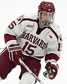 Seb Lloyd (Harvard - 15) - The Harvard University Crimson defeated the US National Team Development Program's Under-18 team 5-2 on Saturday, October 8, 2016, at the Bright-Landry Hockey Center in Boston, Massachusetts.