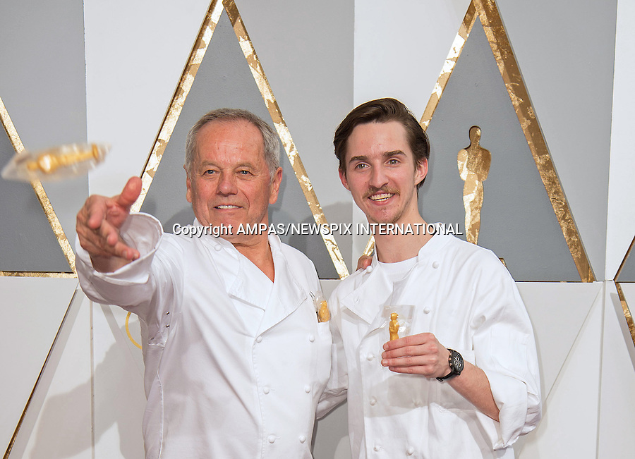 28.02.2016; Hollywood, California: 88th OSCARS - WOLFGANG PUCK<br /> attend the 88th Annual Academy Awards at the Dolby Theatre&reg; at Hollywood &amp; Highland Center&reg;, Los Angeles.<br /> Mandatory Photo Credit: &copy;Ampas/Newspix International<br /> <br /> PHOTO CREDIT MANDATORY!!: NEWSPIX INTERNATIONAL(Failure to credit will incur a surcharge of 100% of reproduction fees)<br /> <br /> IMMEDIATE CONFIRMATION OF USAGE REQUIRED:<br /> Newspix International, 31 Chinnery Hill, Bishop's Stortford, ENGLAND CM23 3PS<br /> Tel:+441279 324672  ; Fax: +441279656877<br /> Mobile:  0777568 1153<br /> e-mail: info@newspixinternational.co.uk<br /> All Fees To: Newspix International