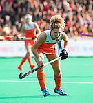 ROTTERDAM - Maria Verschoor (Ned) )  tijdens de Pro League hockeywedstrijd dames, Nederland-USA  (7-1) . links Xan de Waard (Ned)  COPYRIGHT  KOEN SUYK