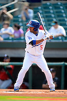 Chattanooga Lookouts second baseman Rafael Ynoa #5 during a game against the Birmingham Barons on April 17, 2013 at AT&T Field in Chattanooga, Tennessee.  Chattanooga defeated Birmingham 5-4.  (Mike Janes/Four Seam Images)