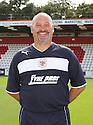 Gary Phillips, goalkeeping coach. Stevenage FC photoshoot -  Lamex Stadium, Stevenage . - 16th August, 2012. © Kevin Coleman 2012