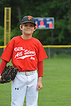 Jackson Newman at the Germantown Baseball League all star game at Cameron Brown Park in Germantown, Tenn. on Wednesday, June 3, 2015. The Red team won 4-2.