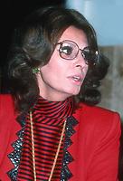 Sophia Loren 1982<br /> Photo By John Barrett/PHOTOlink.net /MediaPunch