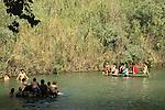 Israel, Beth Shean valley, Ein Yehuda spring in Kibbutz Ein HaNatziv
