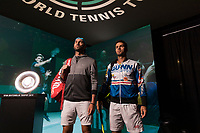 Rotterdam, The Netherlands, 14 Februari 2019, ABNAMRO World Tennis Tournament, Ahoy, quarter final, Jean-Julien Rojer (NED) / Horia Tecau (ROU),<br /> Photo: www.tennisimages.com/Henk Koster